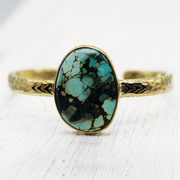 Heirloom Cuff || Nevada Turquoise