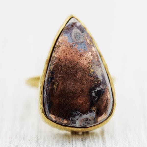 Native Copper Elfin Ring