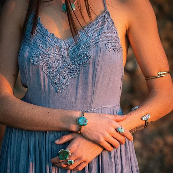 Heirloom Cuff || New Mexico Turquoise