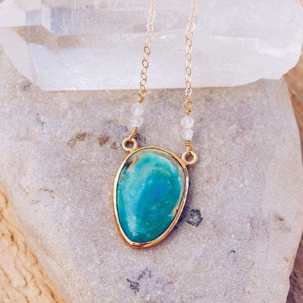 Andean Opal Necklace
