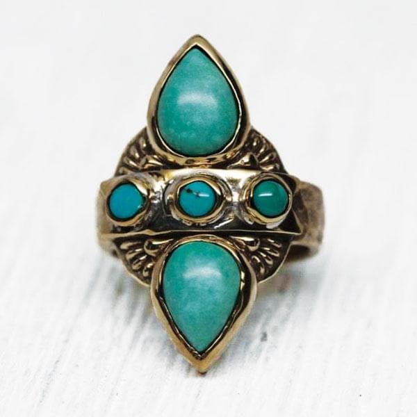Truth Seeker Ring :: Turquoise