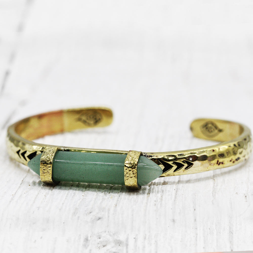 Heirloom Cuff :: Jade Wand