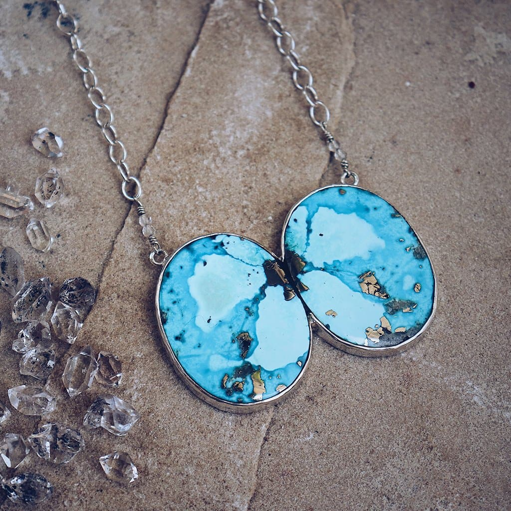 Lunar Chrysocolla Necklace