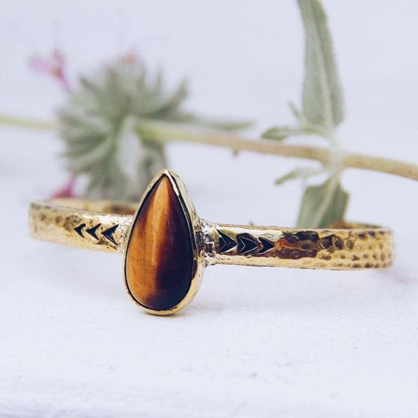 Heirloom Cuff || Tigers Eye