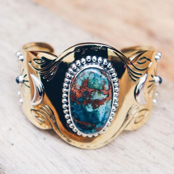 Spirit Cuff : Bluebird Copper