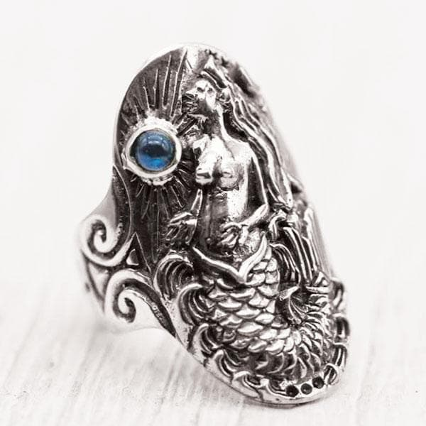Ocean Goddess Ring :: Sterling Silver