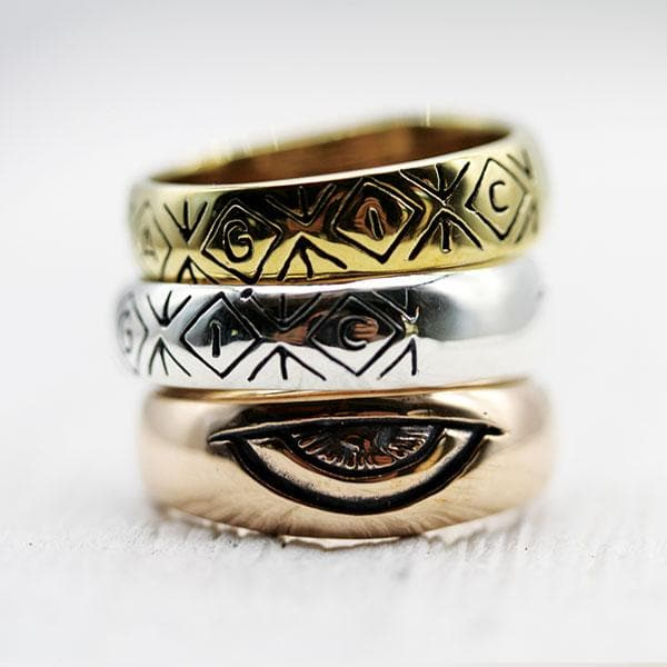 Men's Third Eye Ring