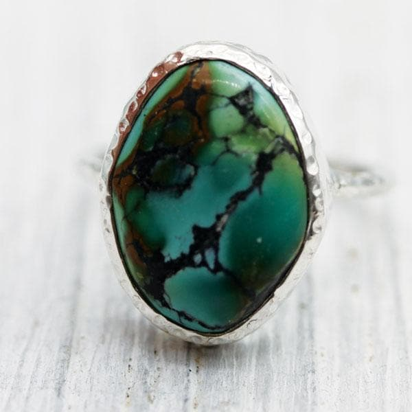 CO Turquoise Elfin Ring