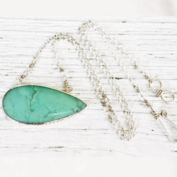 SHAMROCK CHRYSOPRASE Necklace