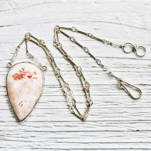 Pink Soulicite Necklace