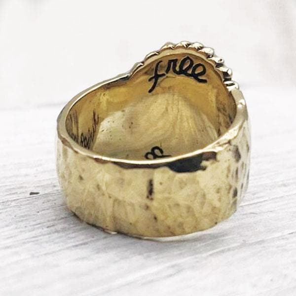 Free Spirit Ring :: Brass