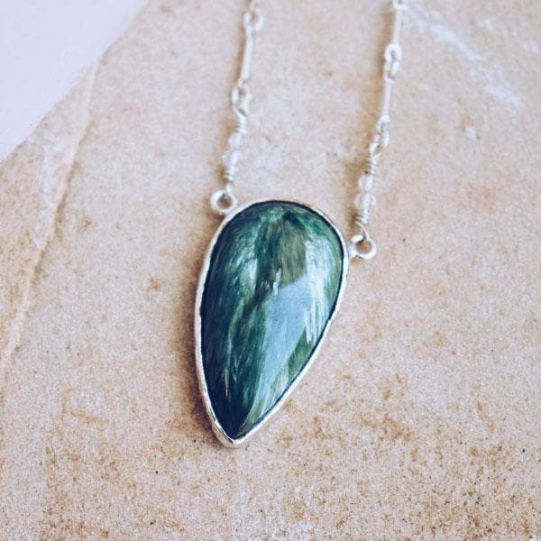 SERAPHINITE Necklace :: See more colors