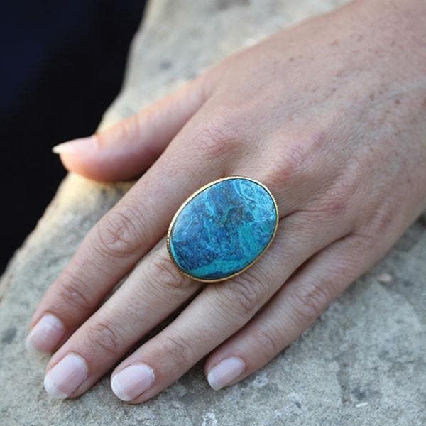 Grand Shattuckite Ring