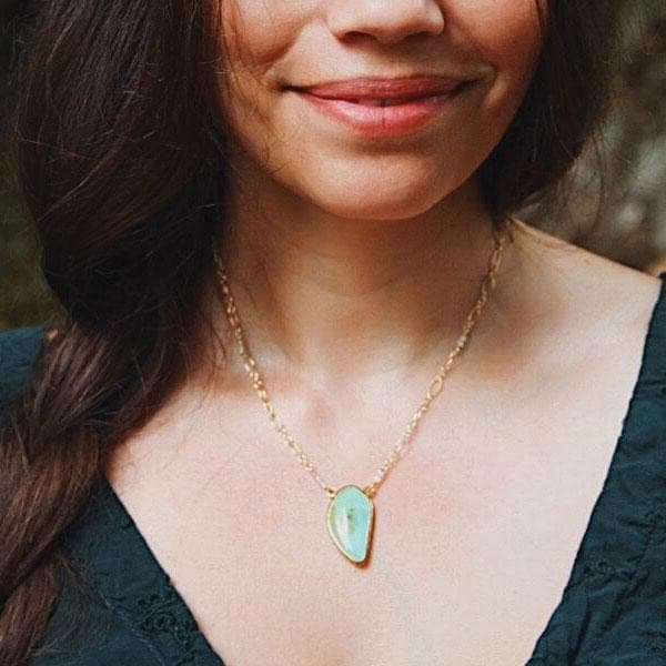 Colla Wood Necklace