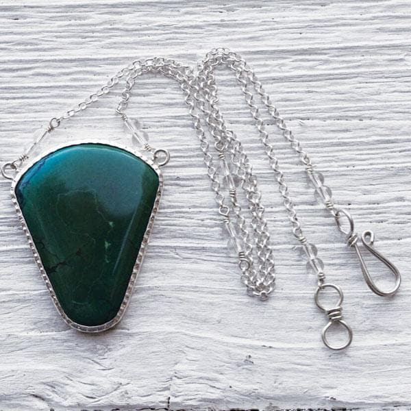 Silver Turquoise NW Necklace
