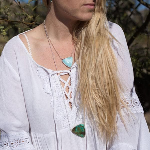 Cactus Chrysocolla Necklace