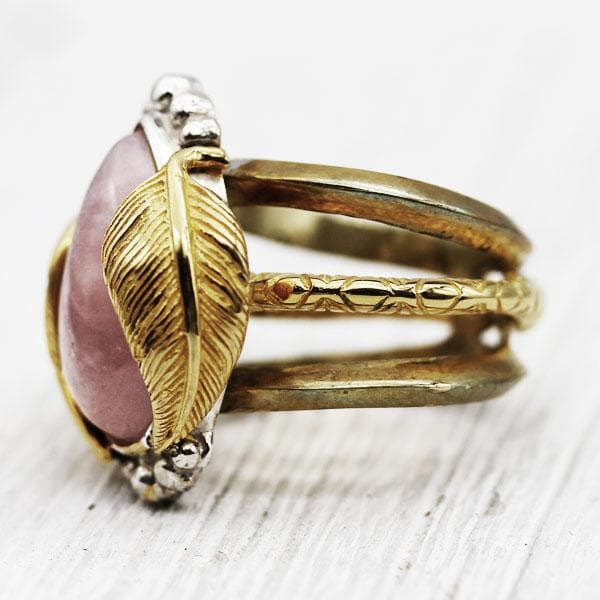 Kinship Ring :: Rose Quartz