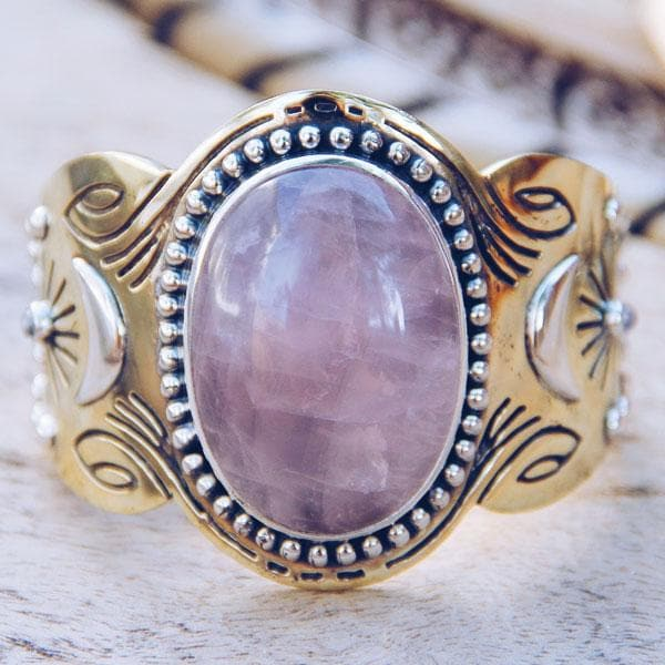 Rose Quartz Spirit Cuff
