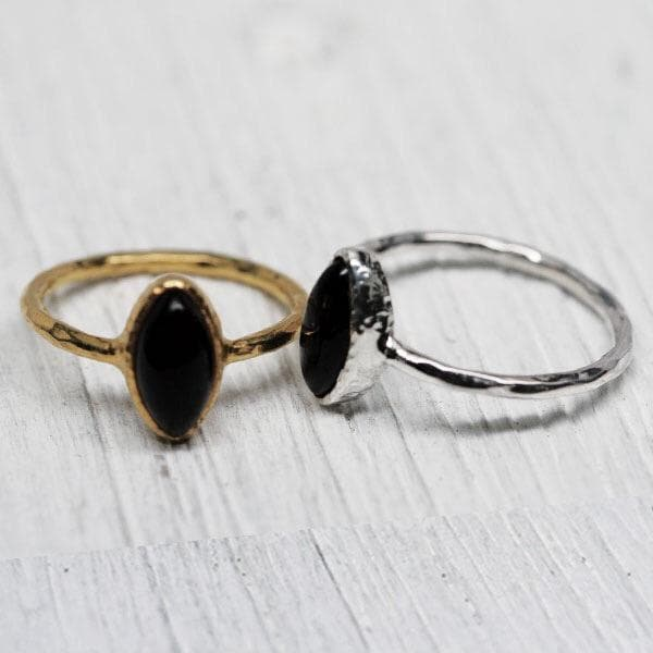 Villager Ring :: Obsidian