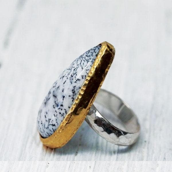 agate online meecreation shopping rings black wedding ring druzy