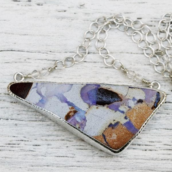 Grand Boulder Opal Necklace