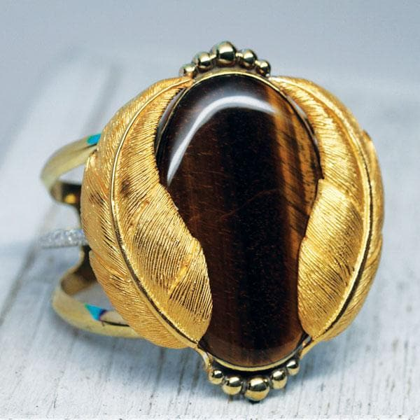 Tigers Eye Kinship Cuff