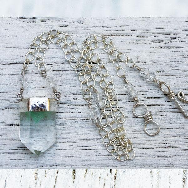 Chlorite Wand Necklace