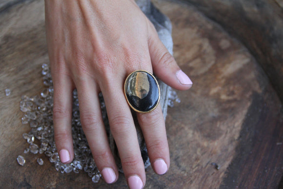 Apache Gold Ring