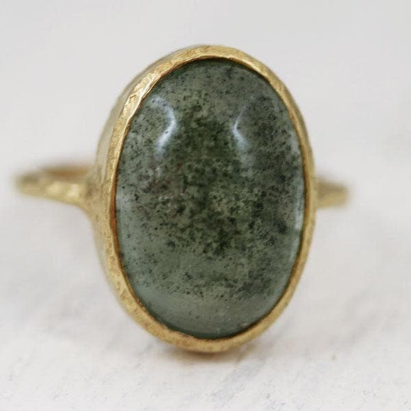 Garden Quartz Elfin Ring