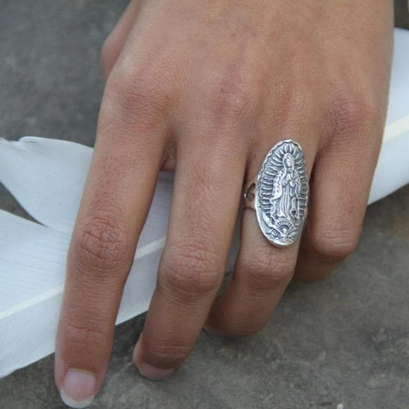 Guadalupe Ring :: Sterling Silver