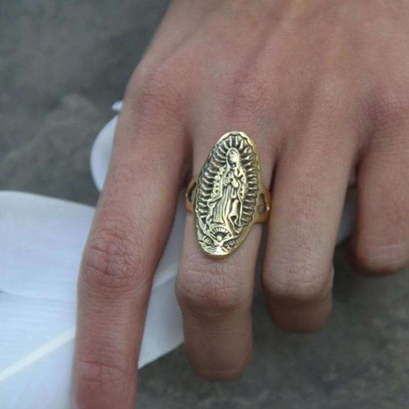 Guadalupe Ring :: Brass