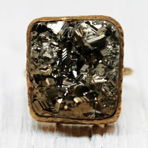 Pyrite Elfin Ring