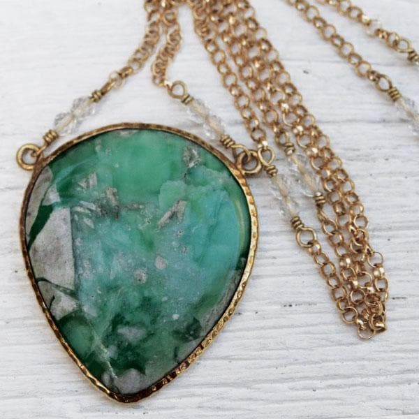 Rare Variscite Necklace