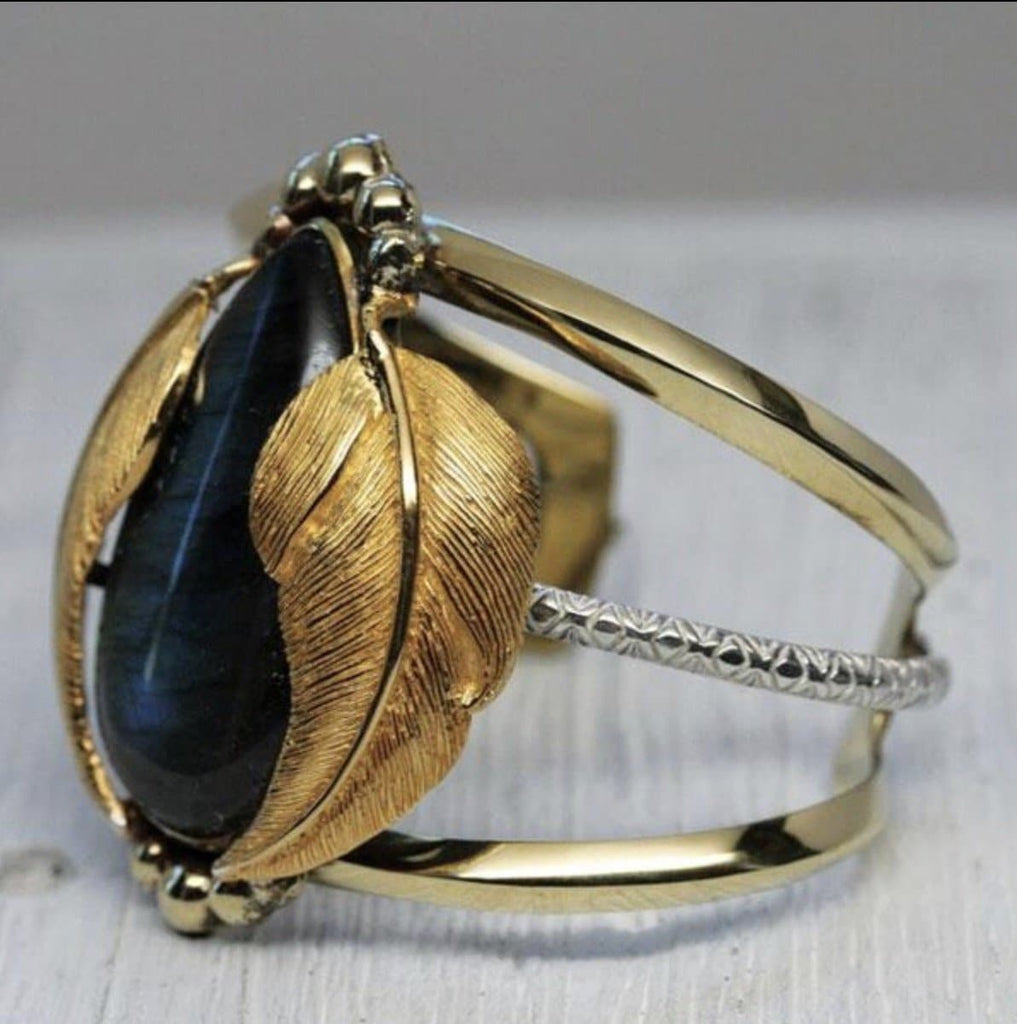Labradorite Tear  Kinship Cuff :: see more colors