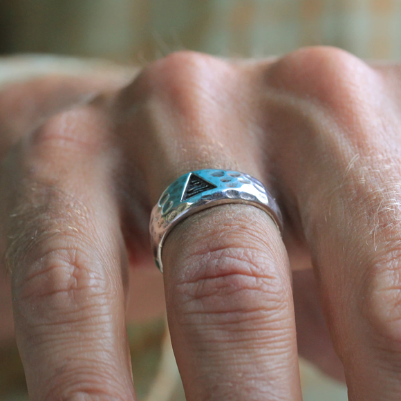 Men's Triangle Ring