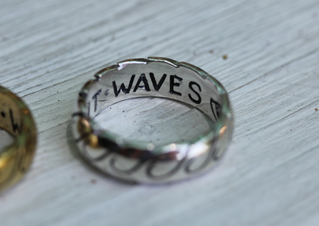 Men's Ancient Waves Band - size 8