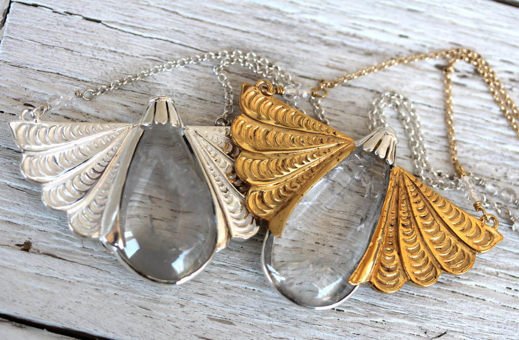 Winged Necklace || more colors