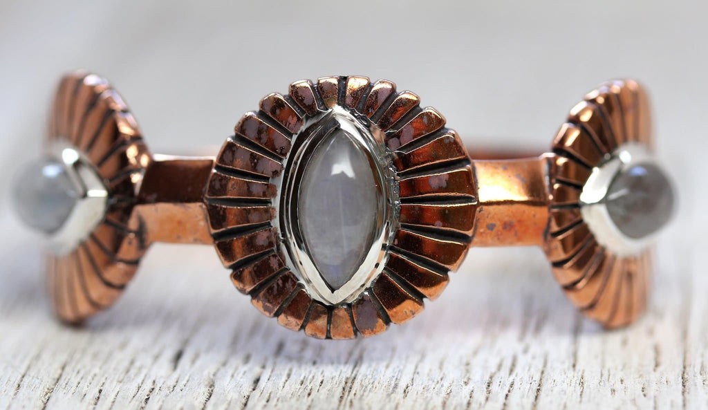 Copper Moon Cuff