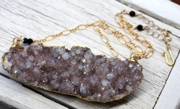 Grand Amethyst Necklace