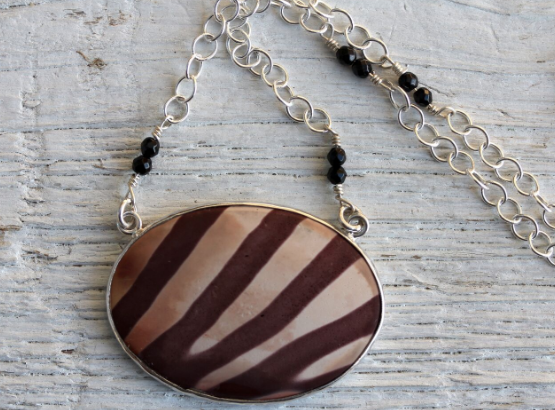 Zebra Jasper Necklace