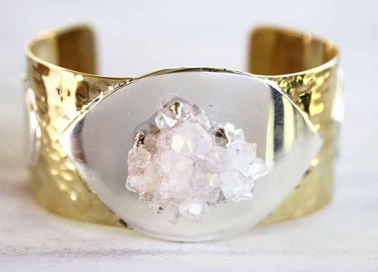 Voyager Cuff :: Clear Crystal