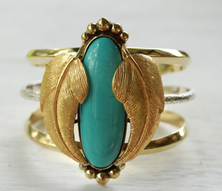 Campitos Turquoise Kinship Cuff