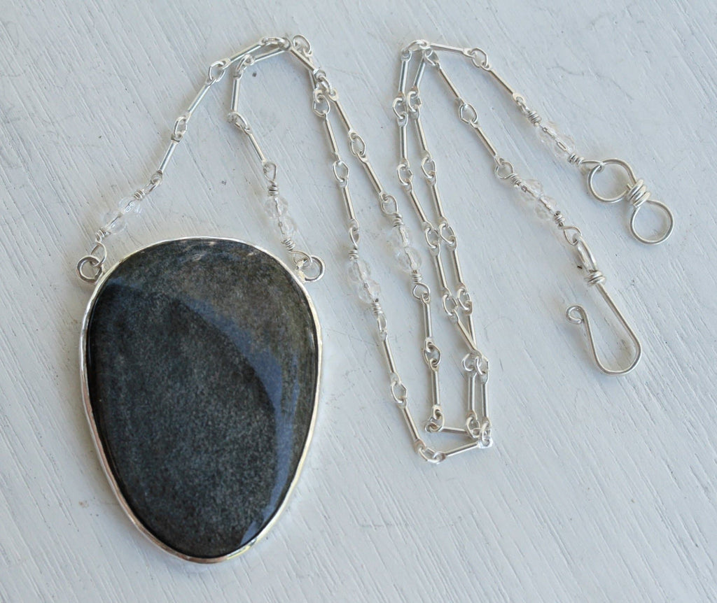 Silver Sheen Necklace