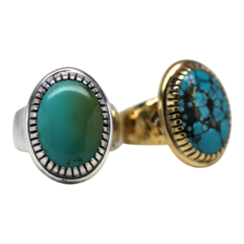 Turquoise Earth Ring