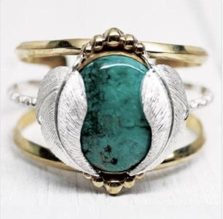 Turquoise Kinship Cuff :: See more colors