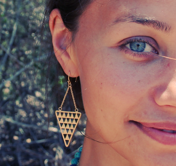 Pyramid Earrings || view more colors