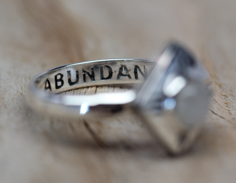 Moonstone Medicine Wheel Ring || view more colors