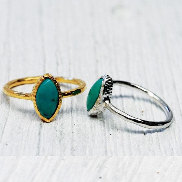Villager Ring :: Turquoise