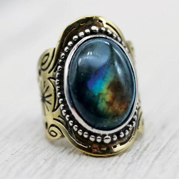 Spirit Ring :: Labradorite