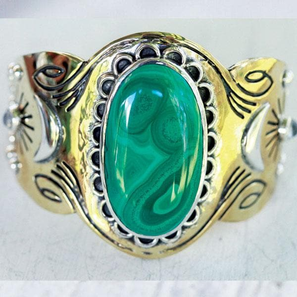 Spirit Cuff :: Malachite
